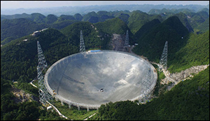 China unveiled largest telescope