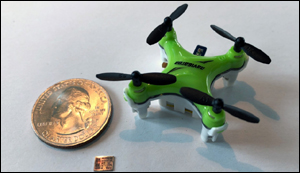Nanochip for small drones