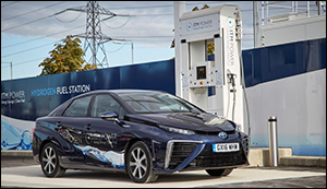 Hydrogen-fueled cars