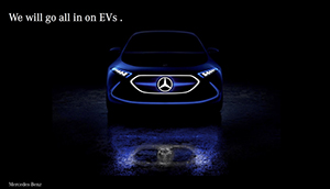 Mercedes-Benz goes electric