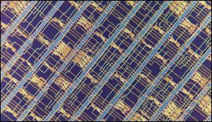 Microprocessor from carbon nanotubes