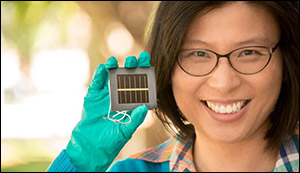 New record for perovskite solar cell