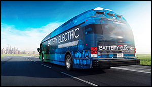 New Proterra electric bus