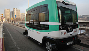Self-driving buses