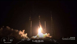 SpaceX satelity