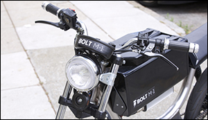 Bolt the first electric motorcycle