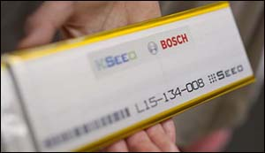 Bosch came with a new battery for electrical cars