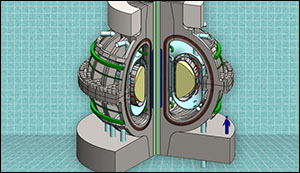 New desing of fusion plant