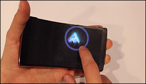 First holographic smartphone