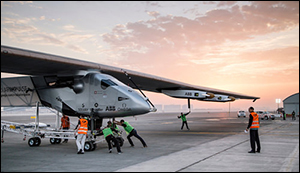 Solar Impulse takes flight once again
