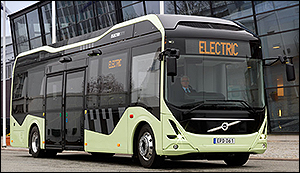 Volvo's first electric bus