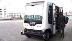 First driverless buses travel public roads in the Netherlands