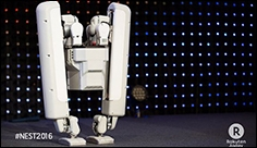 SHAFT Unveils Awesome New Bipedal Robot at Japan Conference