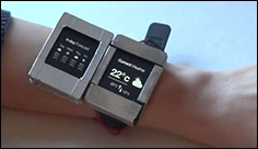 Doppio Researchers unveil dual screen smartwatch