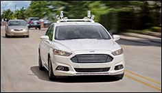 Ford to ship self-driving cars without steering wheels, brake or gas pedals by 2021