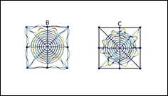 Sound-proof metamaterial inspired by spider webs