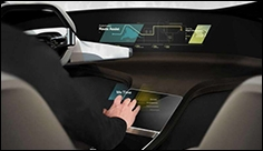 BMW HoloActive Touch system at CES 2017