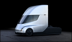 Elon Musk unveils Tesla electric truck – and a surprise new sports car