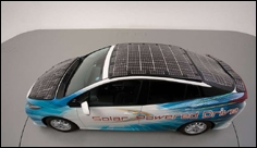 Toyota starts testing high-efficiency solar cells for electric cars