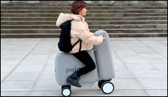 Inflatable E-Bike Fits in a Backpack