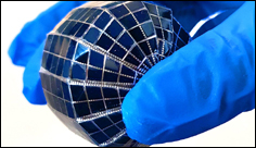 Saudi scientists have created spherical solar panels